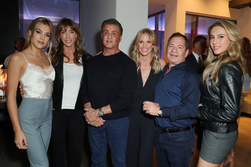 Sylvester Stallone Sophia Stallone Book Launch Party For Kelly Noonan Gores' 'Heal'