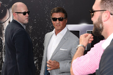 Sylvester Stallone Celebs Arrive at the Premiere of Paramount Pictures' 'Terminator Genisys'