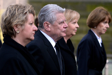 Sylvia Loehrmann Funeral for Guido Westerwelle