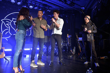 Symon Shawn Mendes Performs For SiriusXM Live From The Roxy In Los Angeles
