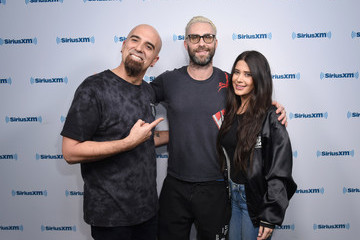 Symon Adam Levine Visits 'Hits 1 in Hollywood' On SiriusXM Hits 1 Channel at the SiriusXM Studios In Los Angeles