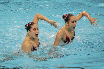 Hyunha Park Synchronised Swimming Day Four - 14th FINA World Championships