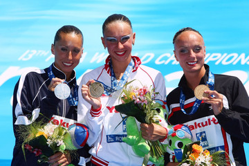 Marie Pier Boudreau Gagnon Synchronised Swimming Day Three - 13th FINA World Championships
