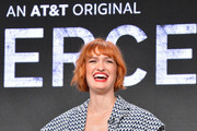 Breeda Wool attends AT&T AUIDENCE Network Presents 'Mr. Mercedes' At The Television Critics Association In Beverly Hills at The Beverly Hilton on July 23, 2019 in Los Angeles, California.
