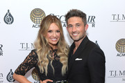Carly Pearce and Michael Ray attend The T.J. Martell Foundation Nashville Best Cellars 2019 event at the Loews Vanderbilt Hotel on April 22, 2019 in Nashville, Tennessee.