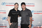 Chris Daughtry and Scott Stapp attend the T.J. Martell Foundation New York Golf Classic on July 20, 2015 in Croton-on-Hudson City.