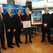 Lou Brutus T.J. Martell Foundation Presents Bob Weir With A Plaque For His Support
