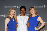 (L-R) Actress Kerry Butler, Gillian Horsham, and actress Megan Sikora attend the T.J. Martell Foundation's Women of Influence Awards on May 1, 2014 in New York City.