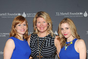 (L-R) Actress Megan Sikora, T.J. Martell Foundation officer Marcie Allen, and actress Kerry Butler attend the T.J. Martell Foundation's Women of Influence Awards on May 1, 2014 in New York City.