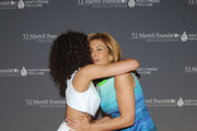 Singer Jetta (L) and honoree Hoda Kotb attend the T.J. Martell Foundation's Women of Influence Awards on May 1, 2014 in New York City.