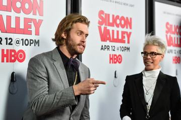 T.J. Miller Premiere Of HBO's 'Silicon Valley' Season 2 - Red Carpet