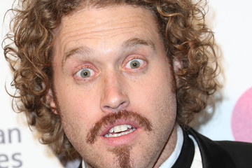 T.J. Miller Arrivals at the Elton John AIDS Foundation Oscars Viewing Party — Part 4