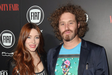 T.J. Miller Kate Gorney Vanity Fair And FIAT Young Hollywood Celebration - Red Carpet