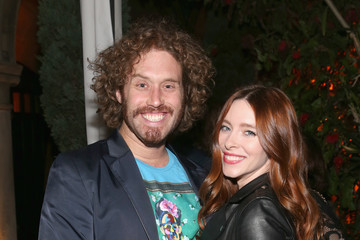 T.J. Miller Kate Gorney Vanity Fair and FIAT Young Hollywood Celebration - Inside