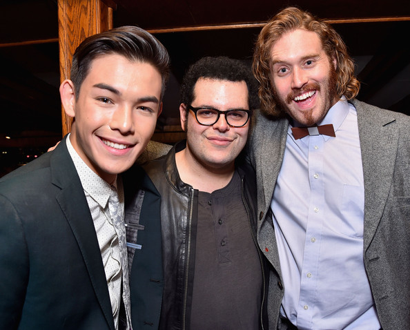 'Big Hero 6' Afterparty [big hero 6,event,eyewear,fun,suit,smile,premiere,vision care,formal wear,facial hair,glasses,actors,josh gad,big hero 6\u00e2,los angeles,walt disney animation studios,after party,walt disney animation studios\u00e2,premiere,party]