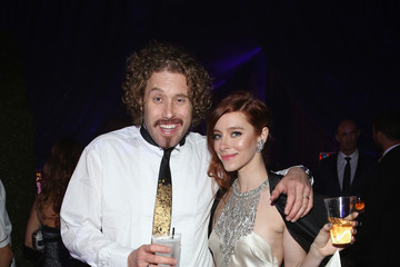 T.J. Miller Arrivals at the Elton John AIDS Foundation Oscars Viewing Party — Part 2