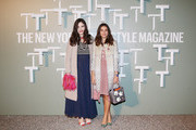 Teresa Missoni and Margherita Missoni attend the T Magazine - The New York Times' Celebration of Salone Internazionale del Mobile at Villa Necchi on April 7, 2014 in Milan, Italy.