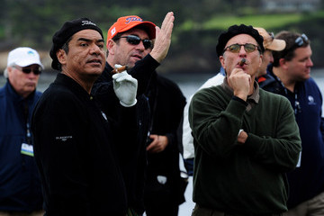 George Lopez Andy Garcia AT&T Pebble Beach National Pro-Am - Practice