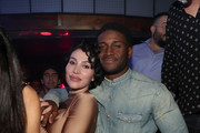 Lilit Avagyan and Reggie Bush attend TAO group's Big Game Takeover presented by Tongue & Groove on January 31, 2019 in Atlanta, Georgia.