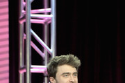 Daniel Radcliffe of 'Miracle Workers' speaks onstage during the TBS portion of the TCA Turner Winter Press Tour 2019 Presentation at The Langham Huntington Hotel and Spa on February 11, 2019 in Pasadena, California. 510169