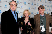 """Actor/director Peter Bogdanovich, actress Tippi Hedren and actor Buck Henry arrive at the TCM Classic Film Festival's gala opening night world premiere of the newly restored film """"A Star Is Born"""" at Grauman's Chinese Theatre on April 22, 2010 in Hollywood, California."""