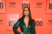 Janet Mock attends the TIME 100 Gala Red Carpet at Jazz at Lincoln Center on April 23, 2019 in New York City.