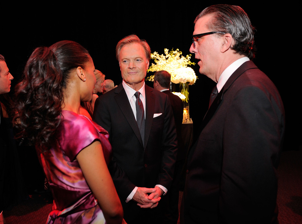 Is tamron hall still dating lawrence o'donnell