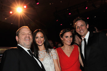 Harvey Weinstein Georgina Chapman TIME 100 Gala, TIME'S 100 Most Influential People In The World - Cocktails