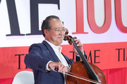 Yo-Yo Ma performs onstage the TIME 100 Summit 2019 on April 23, 2019 in New York City.