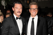 (L-R) Luke Evans and Kevin Reilly attend the TNT And TBS Emmy After-Party 2018 at Dama on September 17, 2018 in Los Angeles, California.
