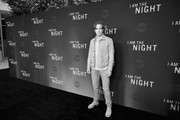 """Image has been shot in black and white. Color version is not available.) Chris Pine attends TNT's """"I Am The Night"""" FYC Event on May 9, 2019 in North Hollywood, California."""