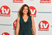 Rebecca Front attends the TV Choice Awards at The Dorchester on September 10, 2018 in London, England.
