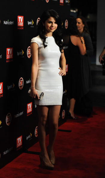 Actress Selena Gomez arrives at TV GUIDE Magazine's Hot List Party at SLS Hotel ÒThe BazaarÓ on November 10, 2009 in Los Angeles, California.