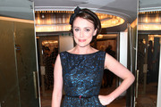 **UK TABLOID NEWSPAPERS OUT** Keeley Hawes attends the TV Quick & TV Choice Awards champagne reception held at The Dorchester on September 7, 2009 in London, England.