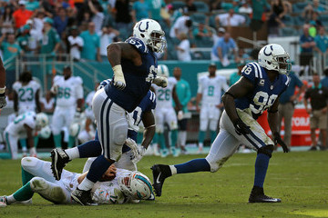 TY McGill Indianapolis Colts v Miami Dolphins