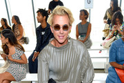 Derek Warburton attends the Tadashi Shoji Spring/Summer front row during New York Fashion Week: The Shows at Gallery I at Spring Studios on September 05, 2019 in New York City.
