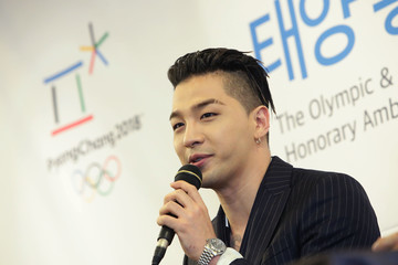 Taeyang Taeyang of Big Bang Appointed Honorary Ambassador for PyeongChang 2018
