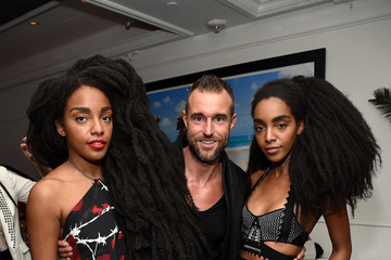 Takenya Quann Philipp Plein Dinner at Bagatelle