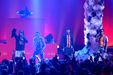 Takeoff 21 Savage iHeartRadio Album Release Party With Migos Presented By MAGNUM Large Size Condoms