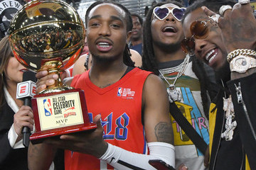 Takeoff 2018 NBA All-Star Game Celebrity Game