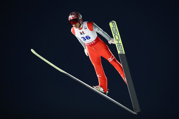 Taku Takeuchi 2017 FIS Ski Jumping World Cup Presented by Viessmann - Training