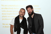Chris Paul and Michael Bellisario attend Talent Resources Presents Airgraft's The Art Of Clean Vapor on September 06, 2019 in Los Angeles, California.