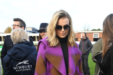 Talia Storm The Duchess of Cornwall Attends the 60th Hennessy Gold Cup