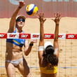 Talita Antunes FIVB Beach Volleyball Vitoria Open - Day 6