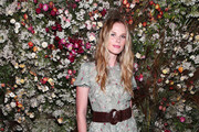Anne Vyalitsyna attends Talita von Furstenberg Celebrates Her Second Collection on October 17, 2019 at La Mercerie in New York City.