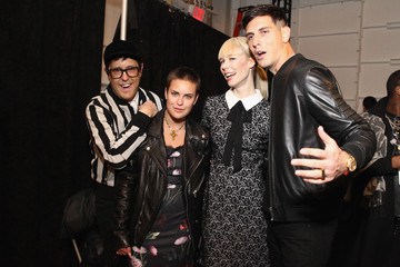 Talllulah Willis TRESemme at Erin Fetherston - Front Row/Backstage - Mercedes-Benz Fashion Week Fall 2015