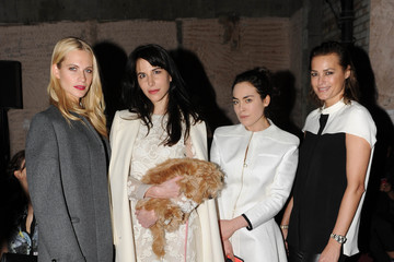 Talulah Harlech Erdem: Front Row - London Fashion Week AW14