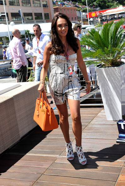 Tamara Ecclestone - Celebrity Sightings at the F1 Grand Prix of Monaco - Day 4
