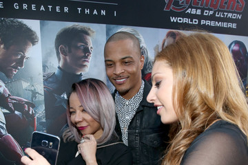 Tameka Cottle Samsung Celebrates The Release of 'Avengers: Age Of Ultron'