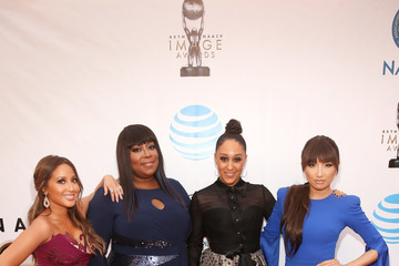 Tamera Mowry-Housley 48th NAACP Image Awards -  Red Carpet